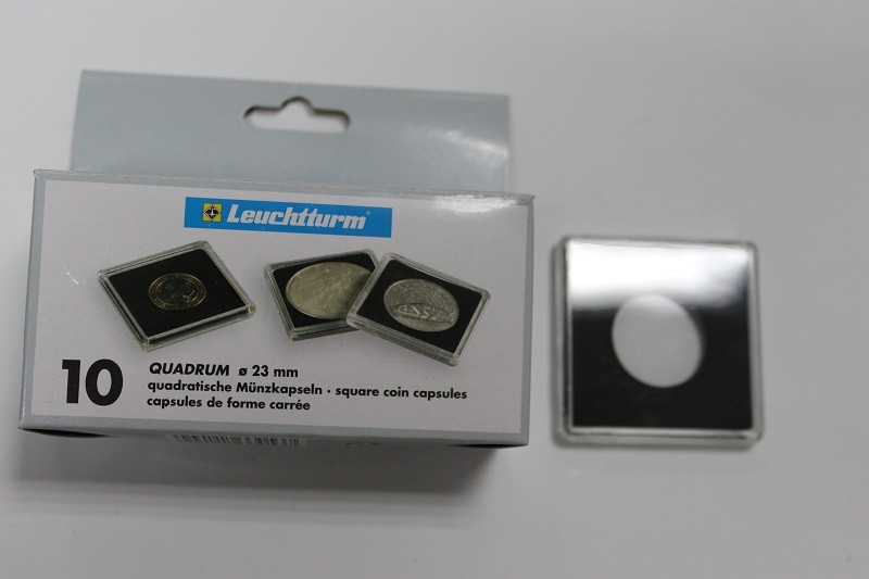 Новая цена! капсулы квадрум для монет диаметром до 23 мм, на.