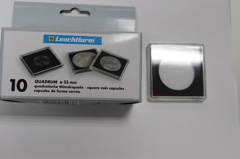 Новая цена! капсулы квадрум для монет диаметром до 33 мм, на.