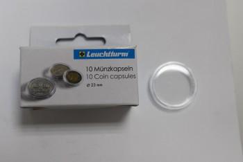 Новая цена! капсулы для монет диаметром до 23 мм - мир монет.